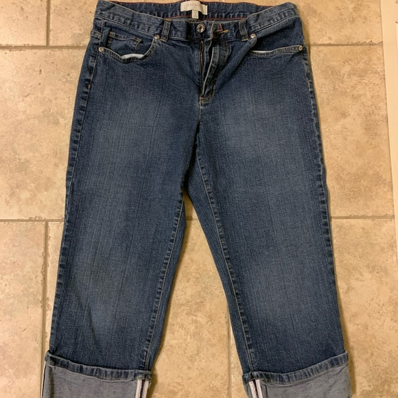 Talbots Pants - Talbots cropped jeans
